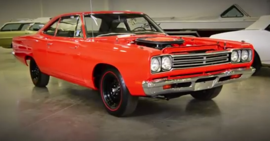 1969 Plymouth Road Runner A12 mopar muscle car