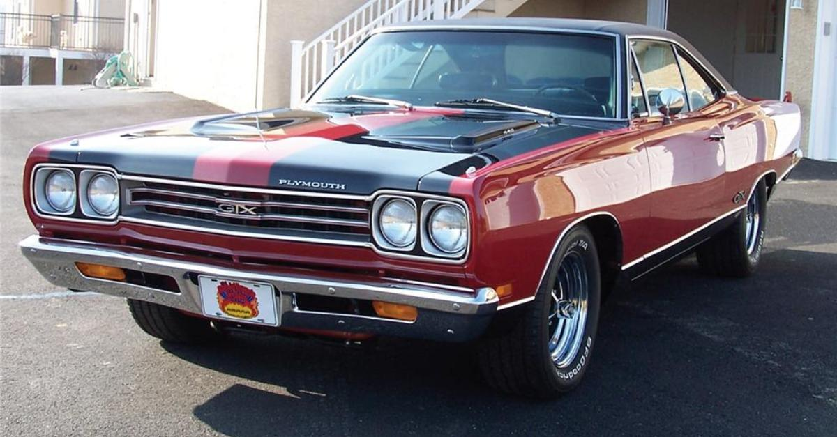 1969 plymouth gtx mopar muscle car