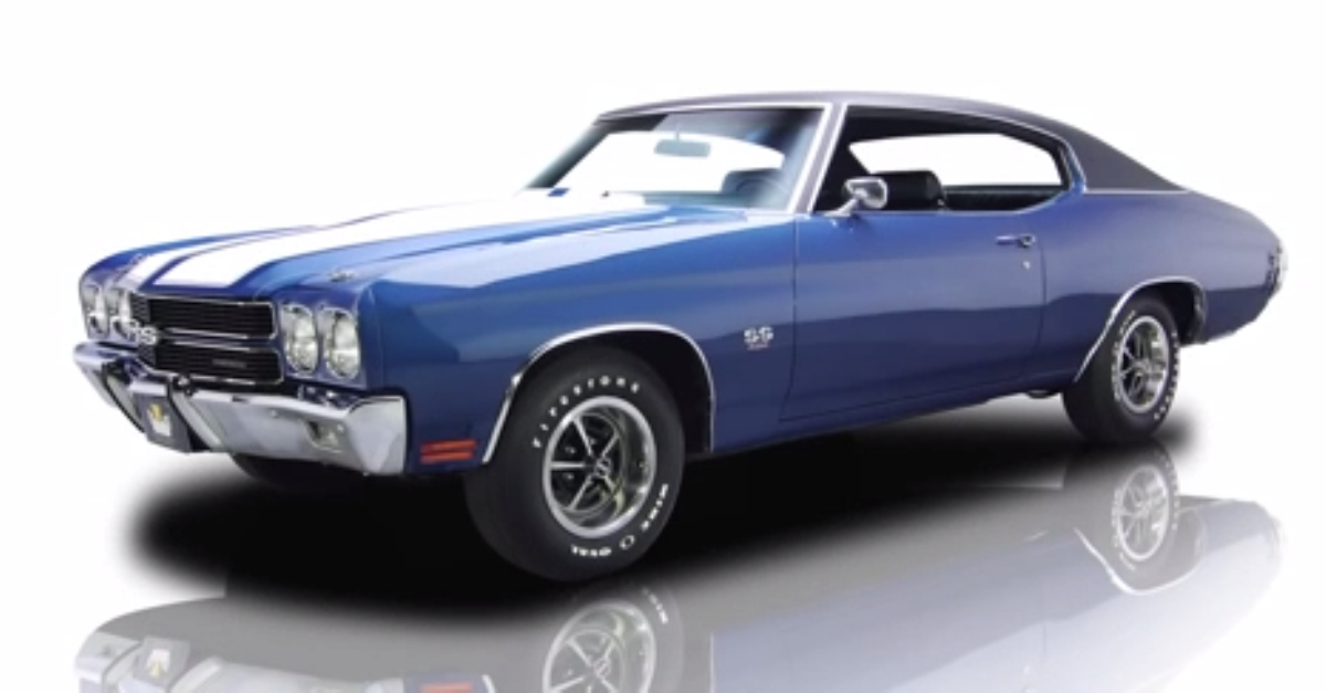 1967 CHEVY CHEVELLE SS BIG BLOCK 572 – STUNNING AMERICAN MUSCLE CAR