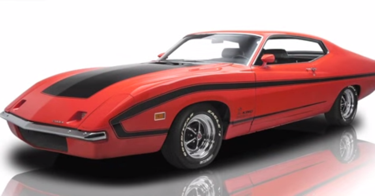 1970 Ford Torino King Cobra american muscle car