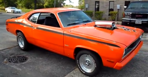 1972 Plymouth DUSTER 360 MOPAR muscle car