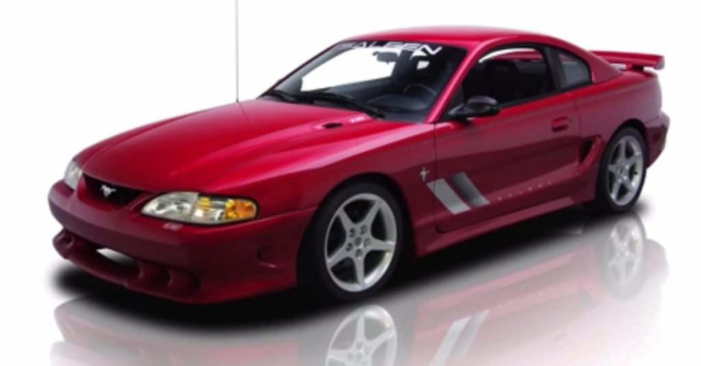 1995 ford saleen mustang s351 stunning american muscle. Black Bedroom Furniture Sets. Home Design Ideas