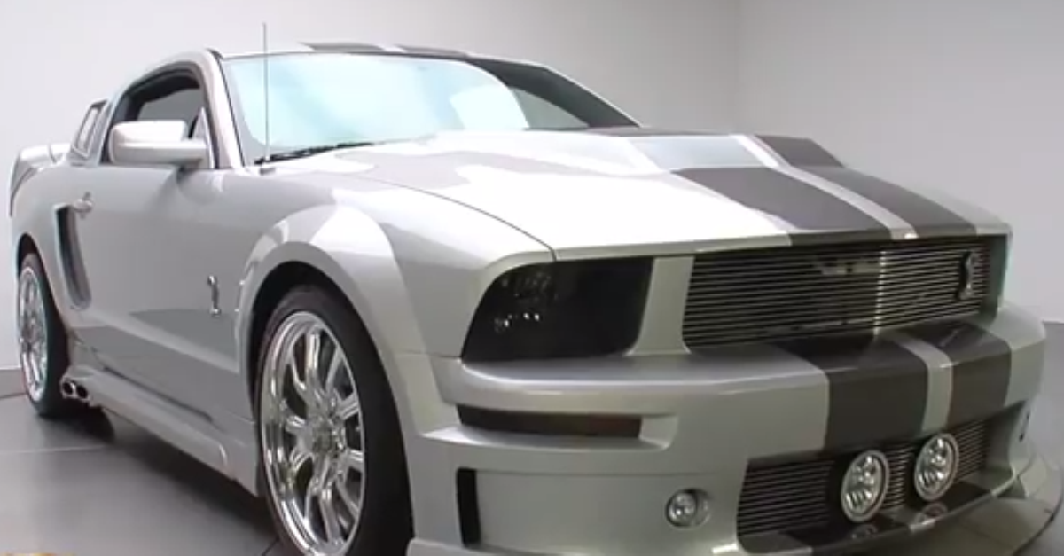 2007 Ford Mustang Eleanor Edition american muscle car