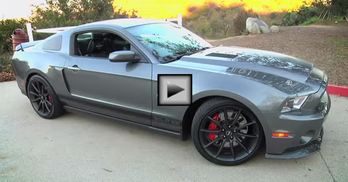 Ford Mustang Shelby GT500 Super Snake american muscle car