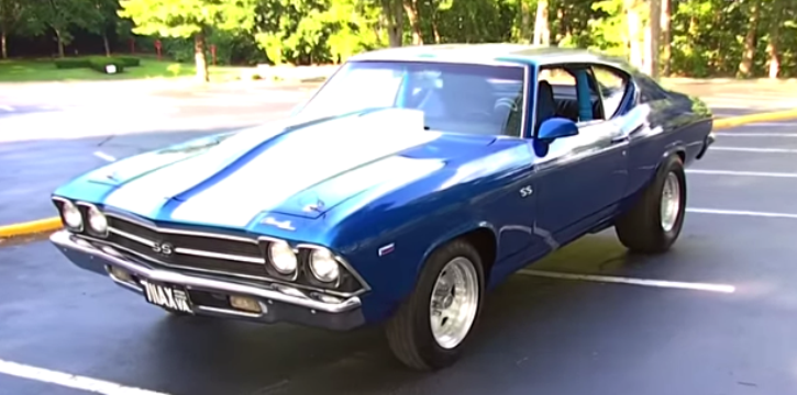 1969 Chevy Chevelle SS 454 american muscle car