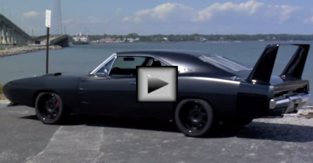 The 180 MPH 1969 Dodge Daytona mopar muscle car