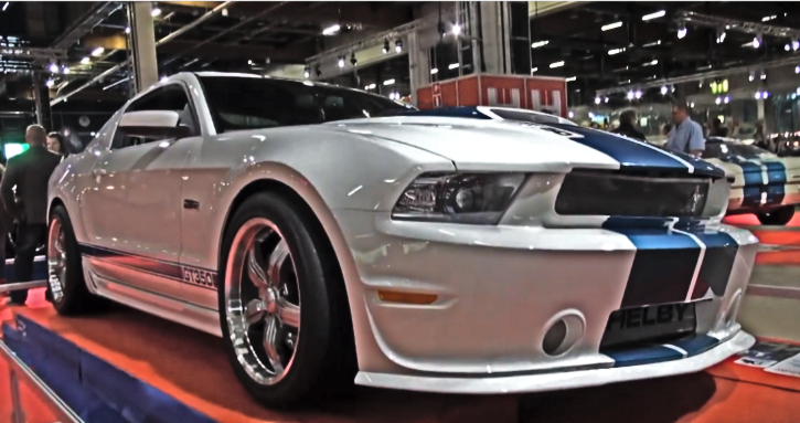 ford shelby mustang gumball rally