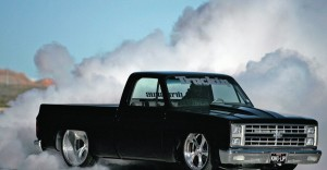 custom trucks burnout donuts - Copy