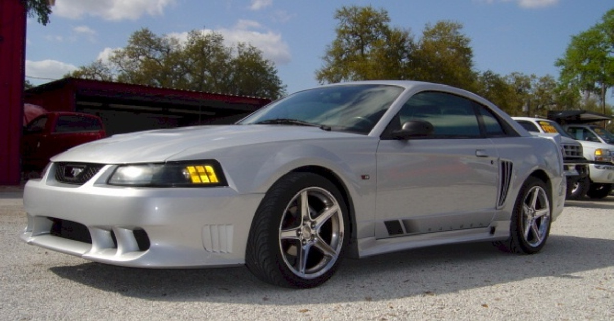saleen mustang supercharged