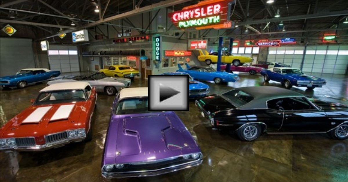 the most amazing mopar muscle car collection