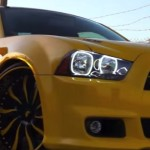 wide body dodge charger super bee on forgiato wheels