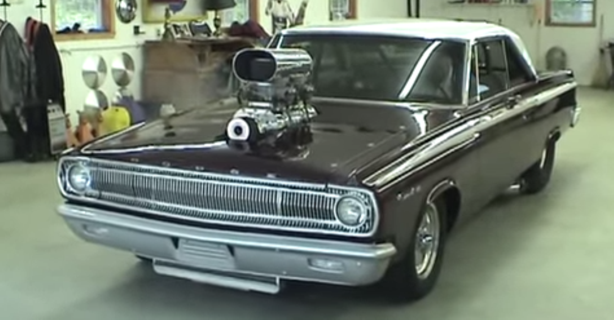 1965 Dodge Coronet Pro Street 1000 Horse Power mopar muscle car