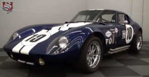 1965 Shelby Cobra Daytona Coupe american sports car