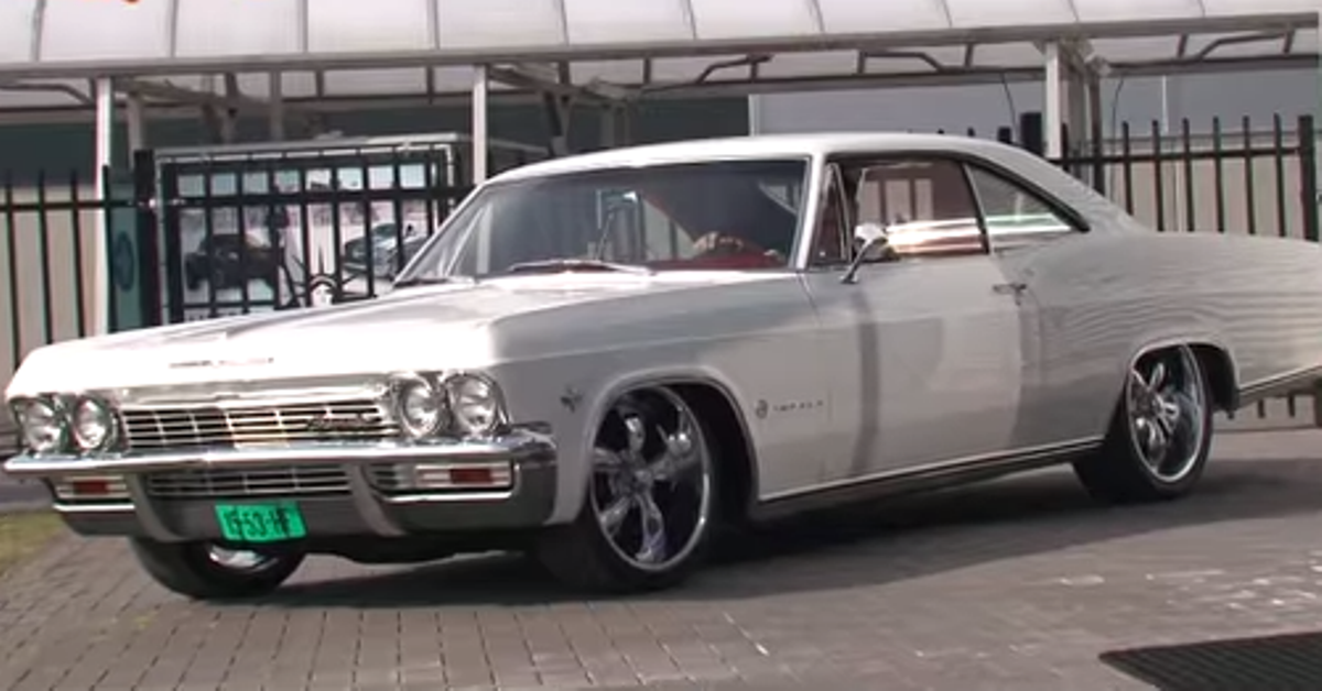 1965 chevrolet impala american muscle cars