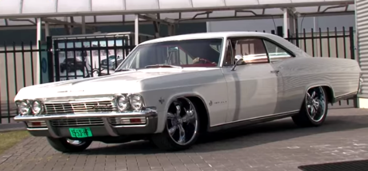 chevy impala custom muscle car