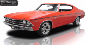 1969 Chevrolet Chevelle SS American muscle car
