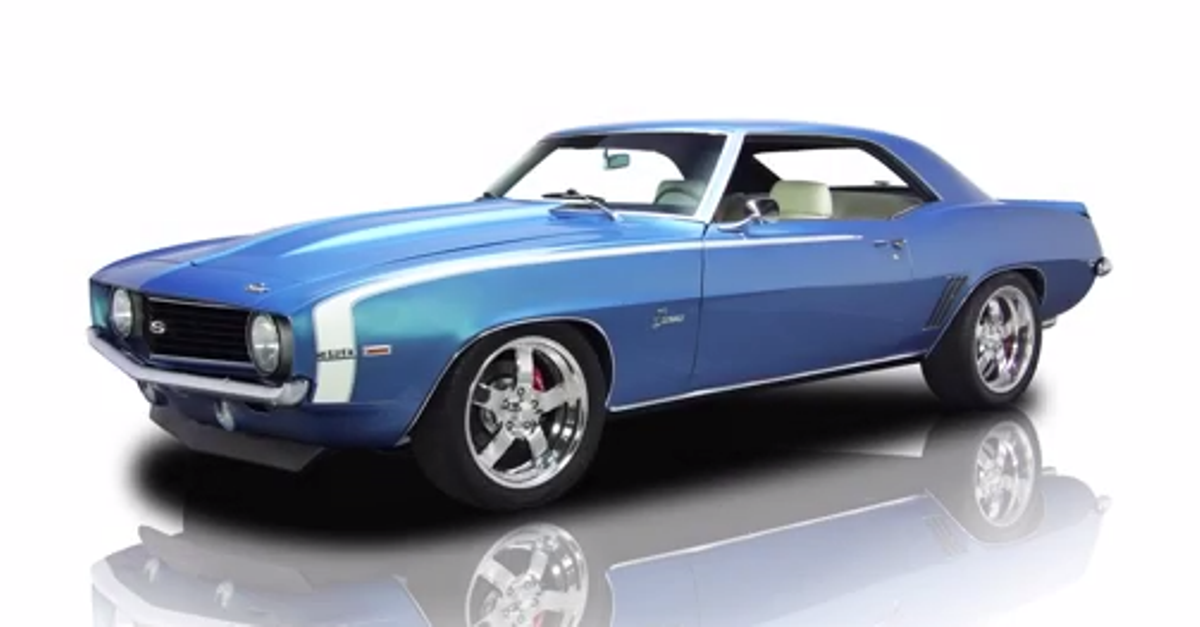1969 Chevy Camaro Pro Touring american muscle car