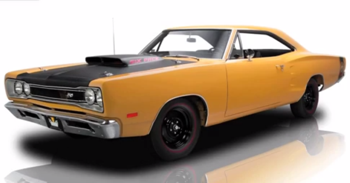 1969 Dodge Coronet A12 Super Bee mopar muscle car