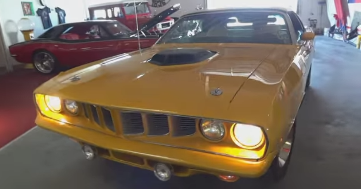 1971 Hemi Plymouth Cuda Nash Bridges Mopar muscle car