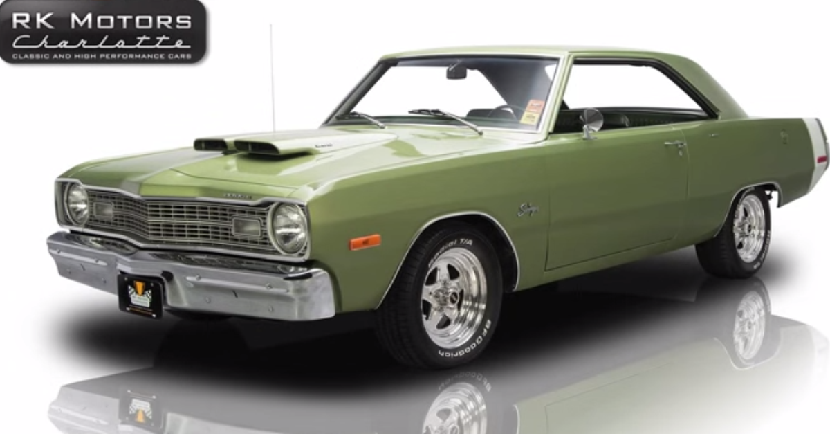 1973 Dodge Dart Swinger Mopar muscle car