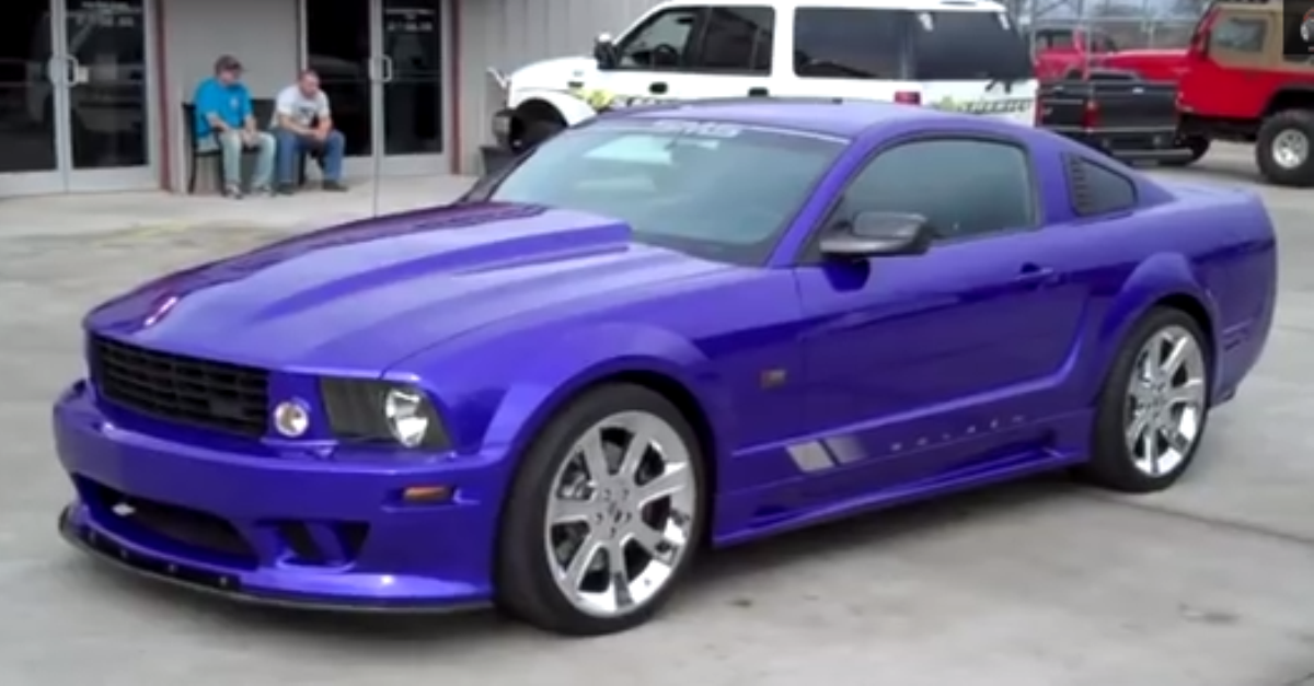 2007 Ford Mustang Saleen american muscle cars