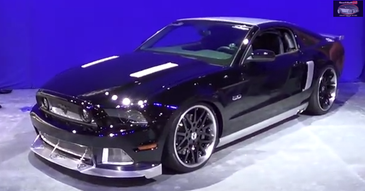 2014 Ford Mustang Custom american muscle car