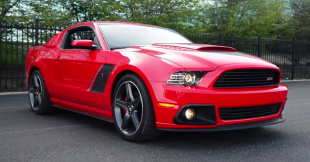 2014 Roush Stage 3 Ford Mustang test drive american muscle car