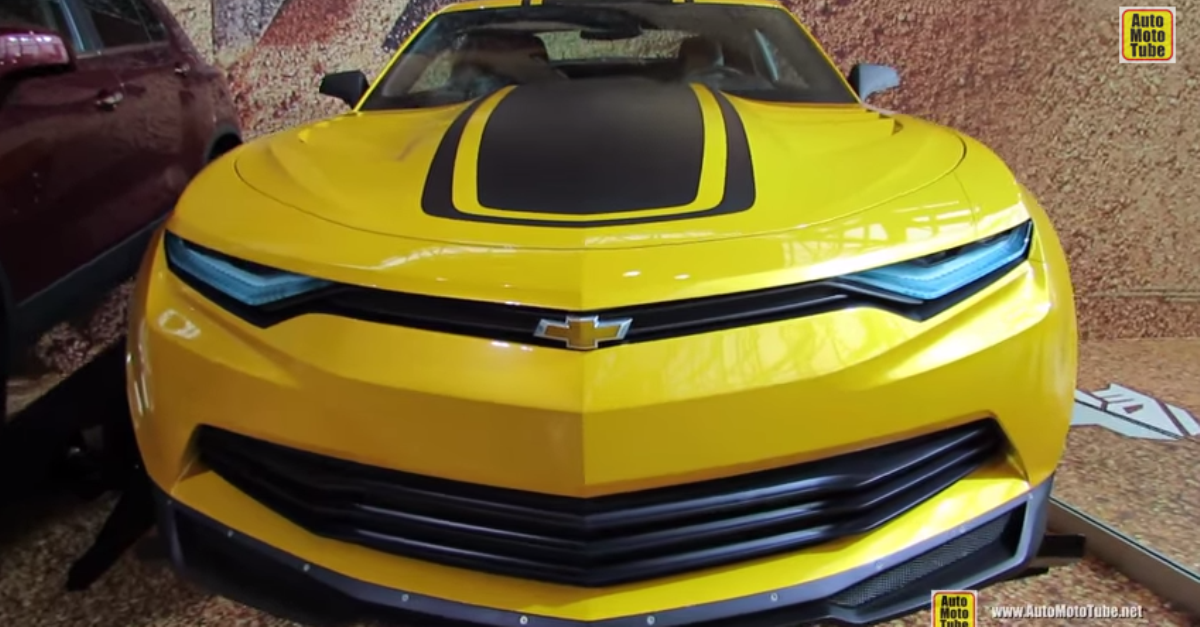 2015 Chevrolet Camaro Prototype from Transformers 4 american muscle car