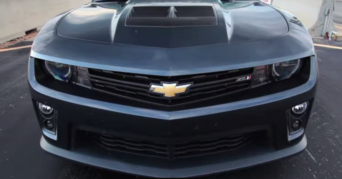 The 700 HP Hennessey Camaro ZL1 american muscle car