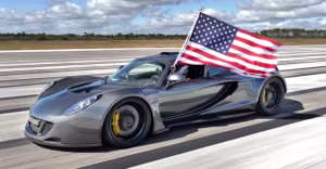 World s Fastest American sports car Hennessey Venom GT