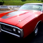 restored 1971 dodge charger rt