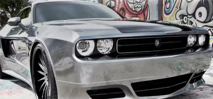 wide body dodge challenger by ultimate auto