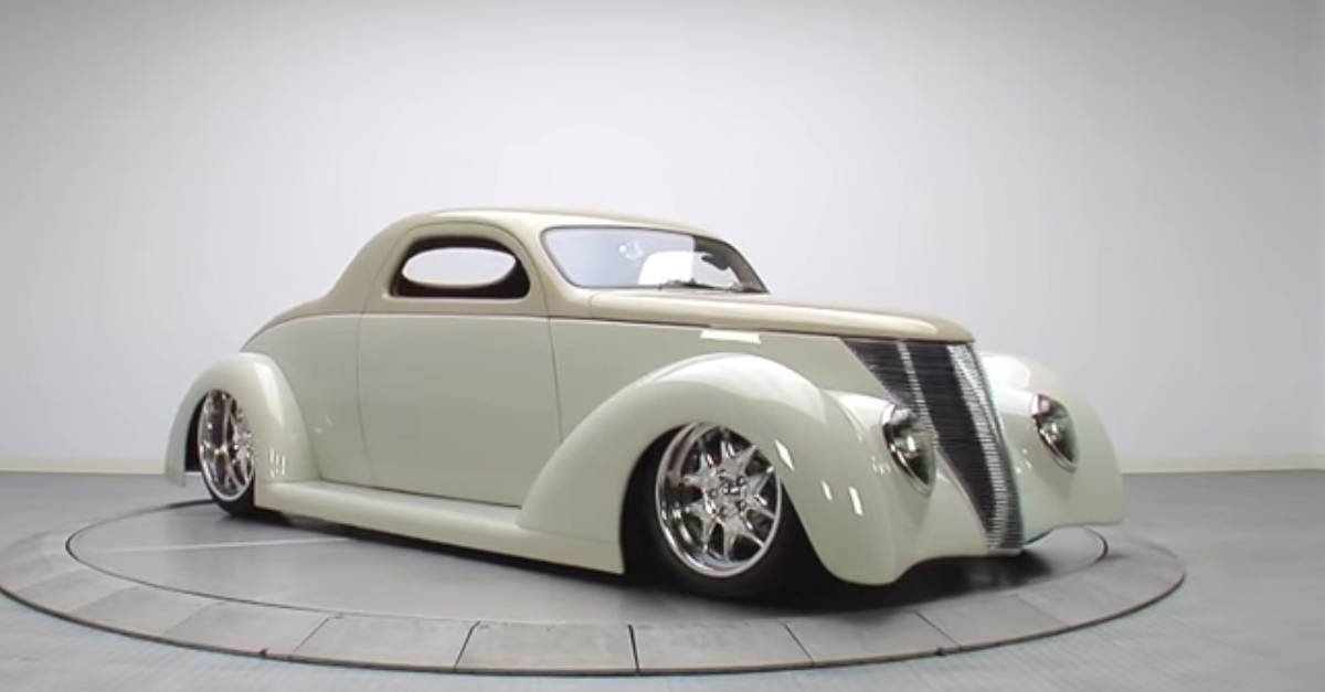 1937 Ford Coupe american hot rod
