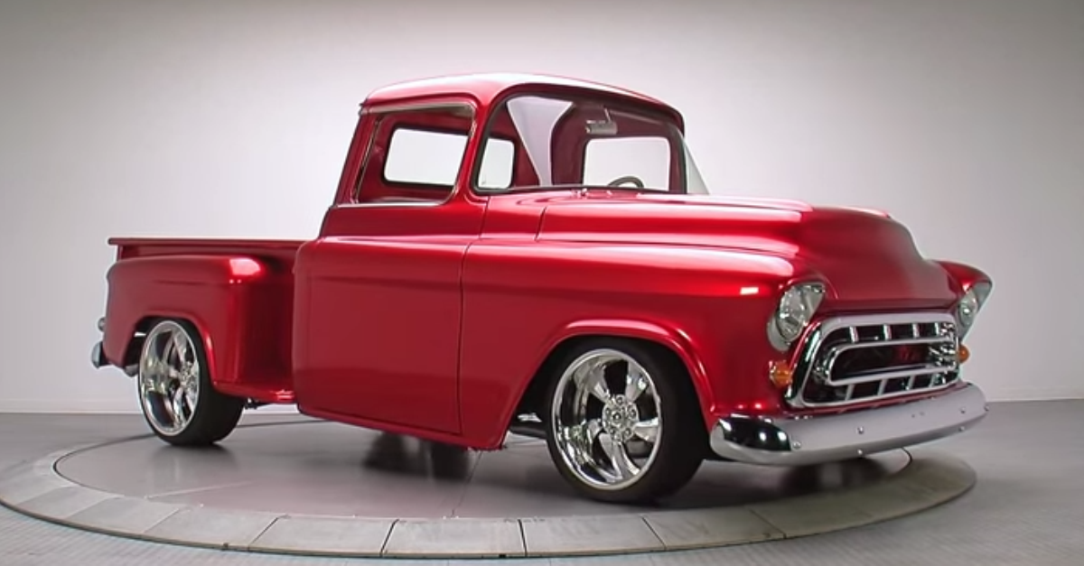 1955 Chevrolet 1 2 Ton Pickup american truck