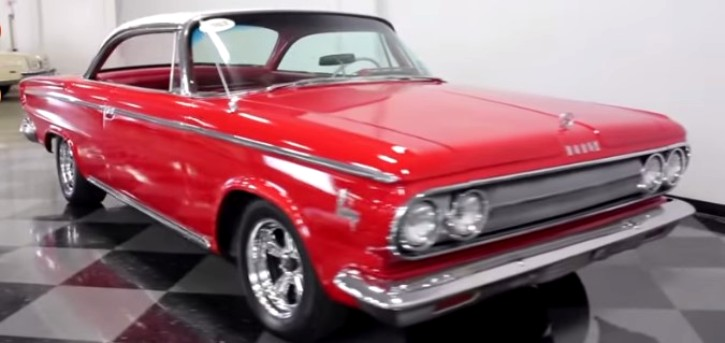 1963 dodge 880 v8 custom hard top