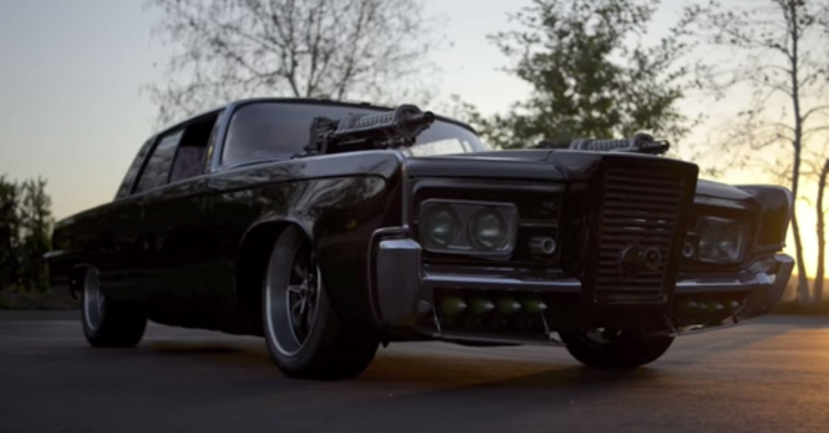 1965 Chrysler Imperial Green hornet mopar movie car