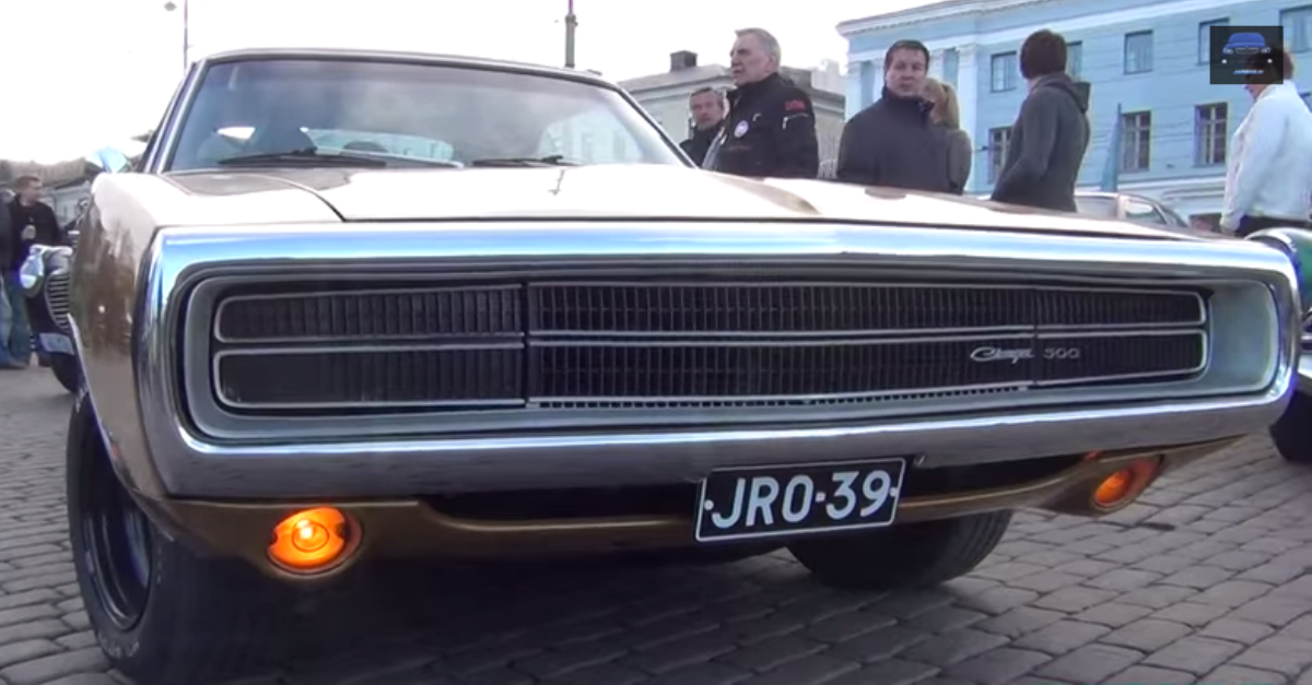 1970 Dodge Charger 500 V8 mopar muscle car