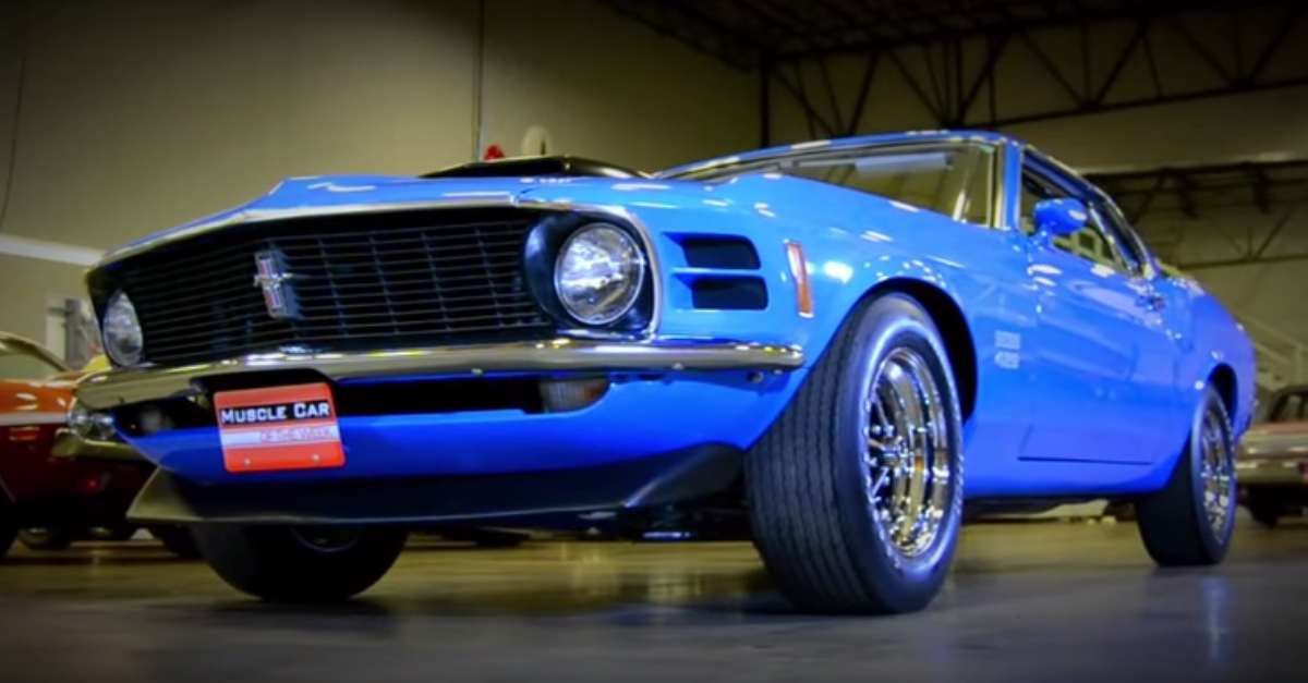 1970 Ford Mustang BOSS 429 American muscle car