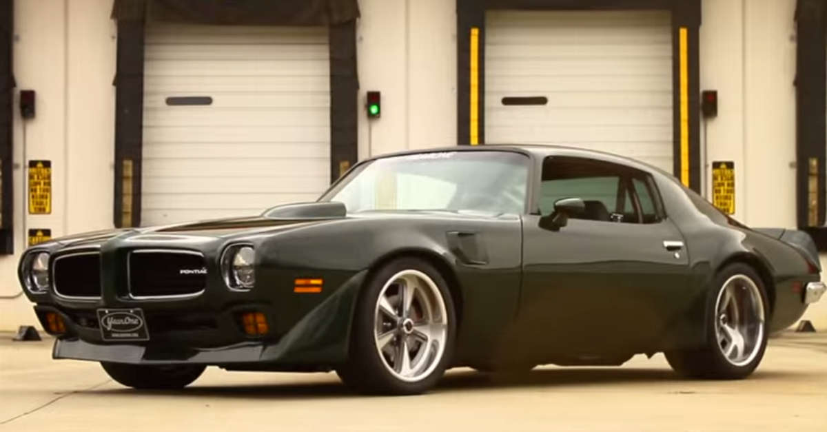 1973 Brewster Green Trans Am Mcq tribute american muscle car