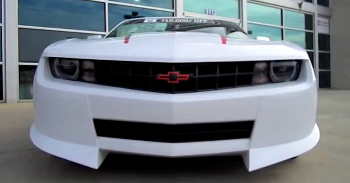 2010 Hendrick Performance Supercharged Chevrolet Camaro SS LS3 american muscle car