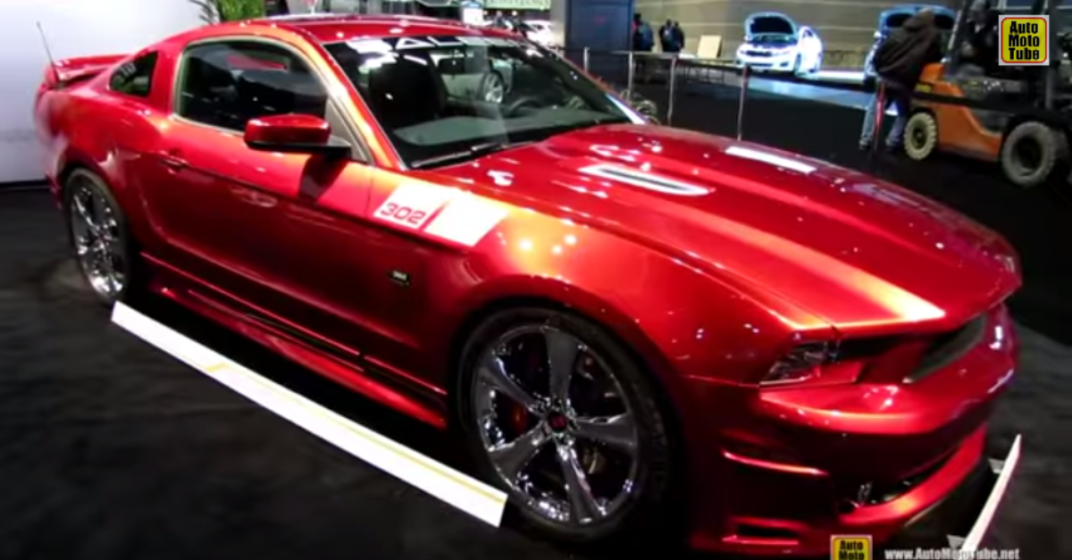 2014 Ford Mustang Saleen 302 Black Label american muscle car Exterior and Interior Walkaround