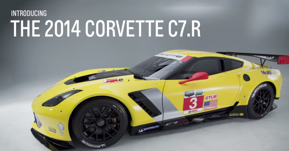 2014 chevrolet Corvette C7R Racecar american sports cars