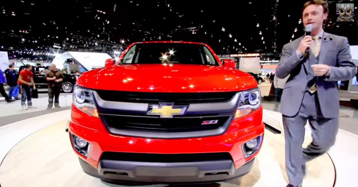 2015 chevrolet colorado pick up truck review