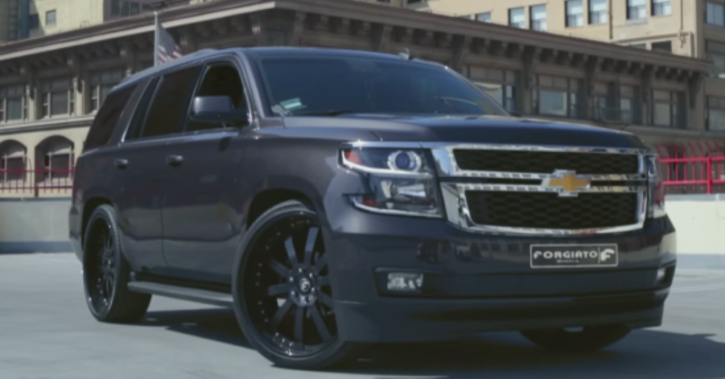 2014 Chevy Tahoe For Sale >> 2015 CHEVROLET TAHOE RIDIN' ON FORGIATO WHEELS IN DOWNTOWN ...