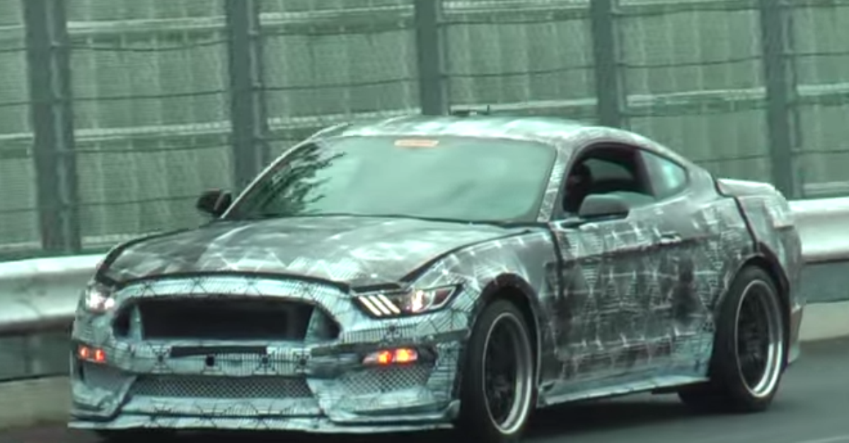 2016 Ford Mustang Shelby GT350 test drive Spy Video