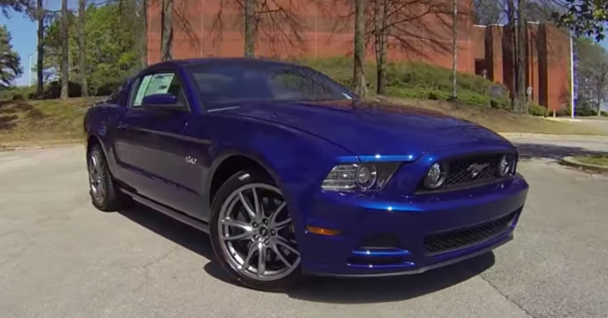 580 HP Supercharged 2013 ford Mustang GT 5.0 sleeper american muscle car