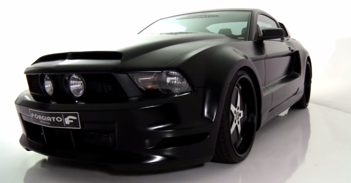 FORGIATO Wide Body Mustang custom american muscle car