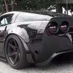 LOMA 800 HP Supercharged chevrolet Corvette Z06 GT2 american sports car