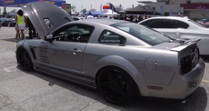 SUPER MODIFIED 2009 MUSTANG SHELBY GT500