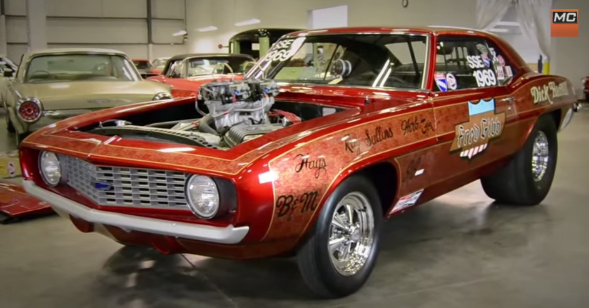 first 1969 chevrolet Camaro ZL 1 ever built american muscle cars